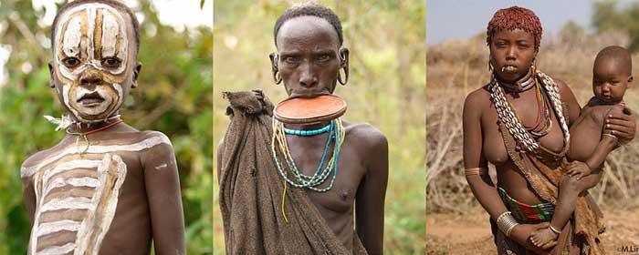 Красавицы диких племен видео